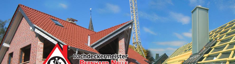 Dachdeckermeister Bernhard Nelle Ahlen Dacheindeckung Metalleindeckung Solar-PV-Anlage Wärmedämmung Flachdacheindeckung Kran Arbeitsbühne